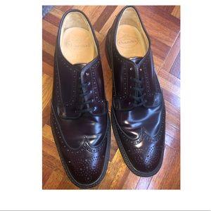 Men shoes- burgundy